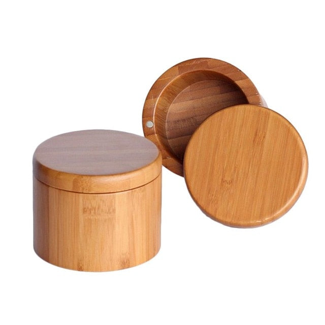 Bamboo Spice Storage Container