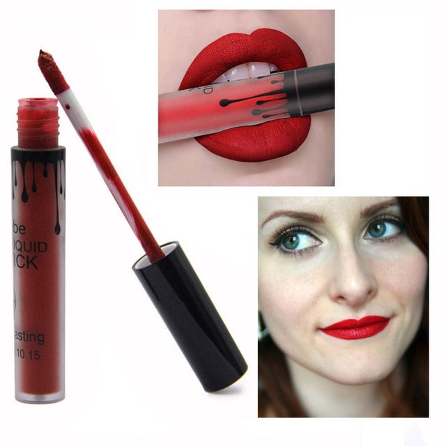Matte Liquid Lipstick Women