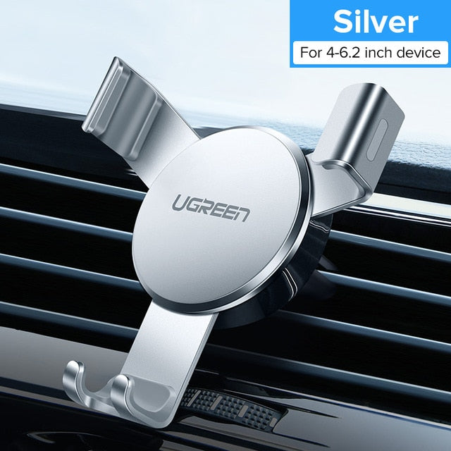 Ugreen Car Phone Holder In Car for iPhone X 7 Air Vent Mount Stand Universal Smartphone  Holder Gravity Cell Support Car Holder