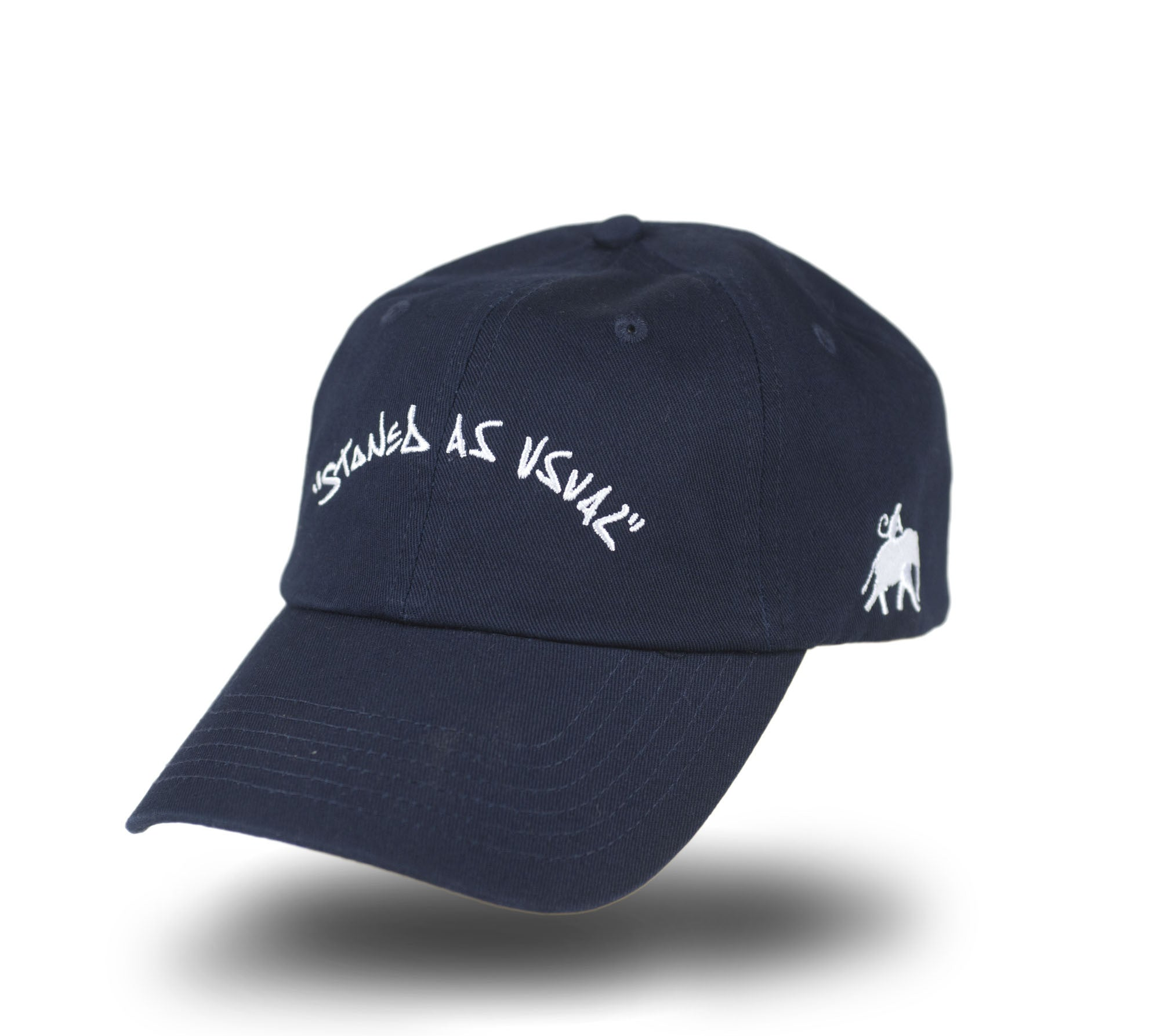 Stoned As Usual Dad Cap - Navy