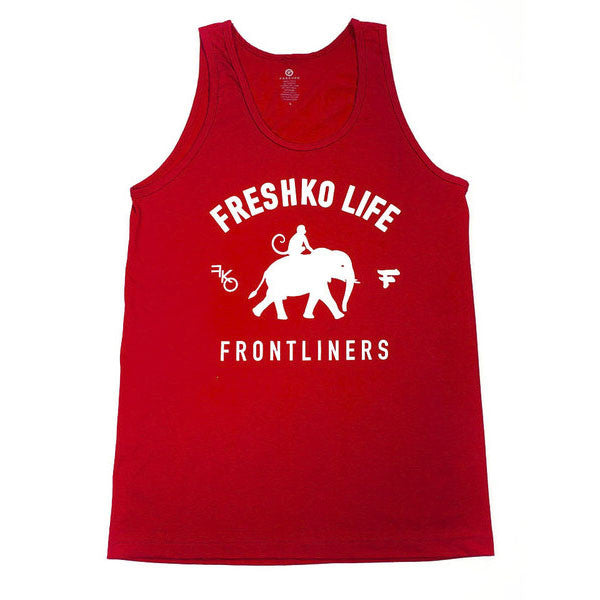 Red Frontliners Tank