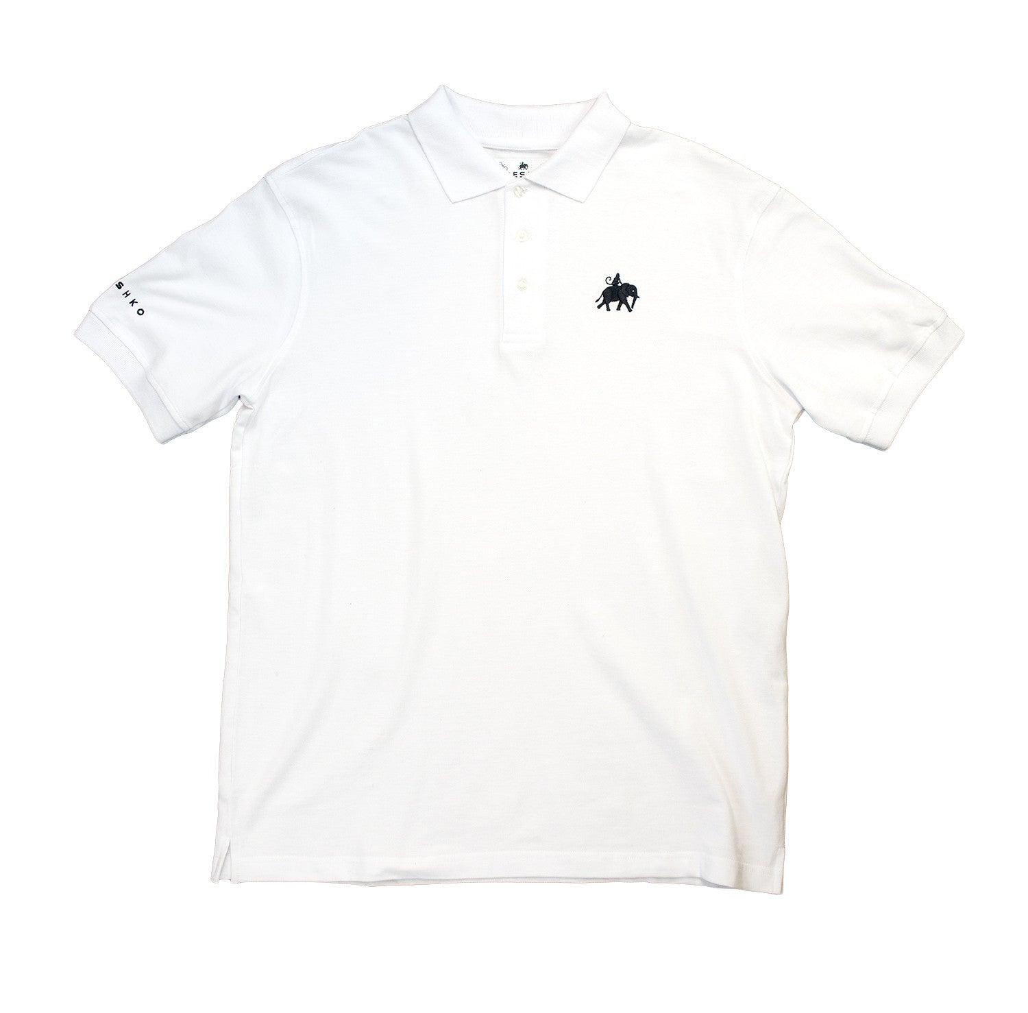 White Elemonkey Polo