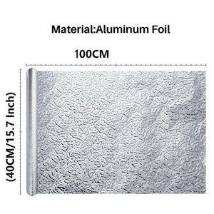 "🔥 Best Selling 🔥Kitchen Protector Aluminum Foil Sticker 15.7""*39.4"""