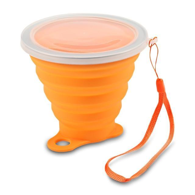 100% Premium Collapsible Water Cup