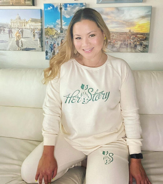 HER POWER STORY Loungewear - POP Line Designs by Mae Day Marketing Inc.