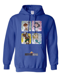 Philippine Mythical Creatures Hooded Sweatshirt Hoodie - Adult - Series 1A