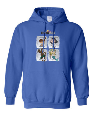 Philippine Mythical Creatures Hooded Sweatshirt Hoodie - Adult - Series 1B