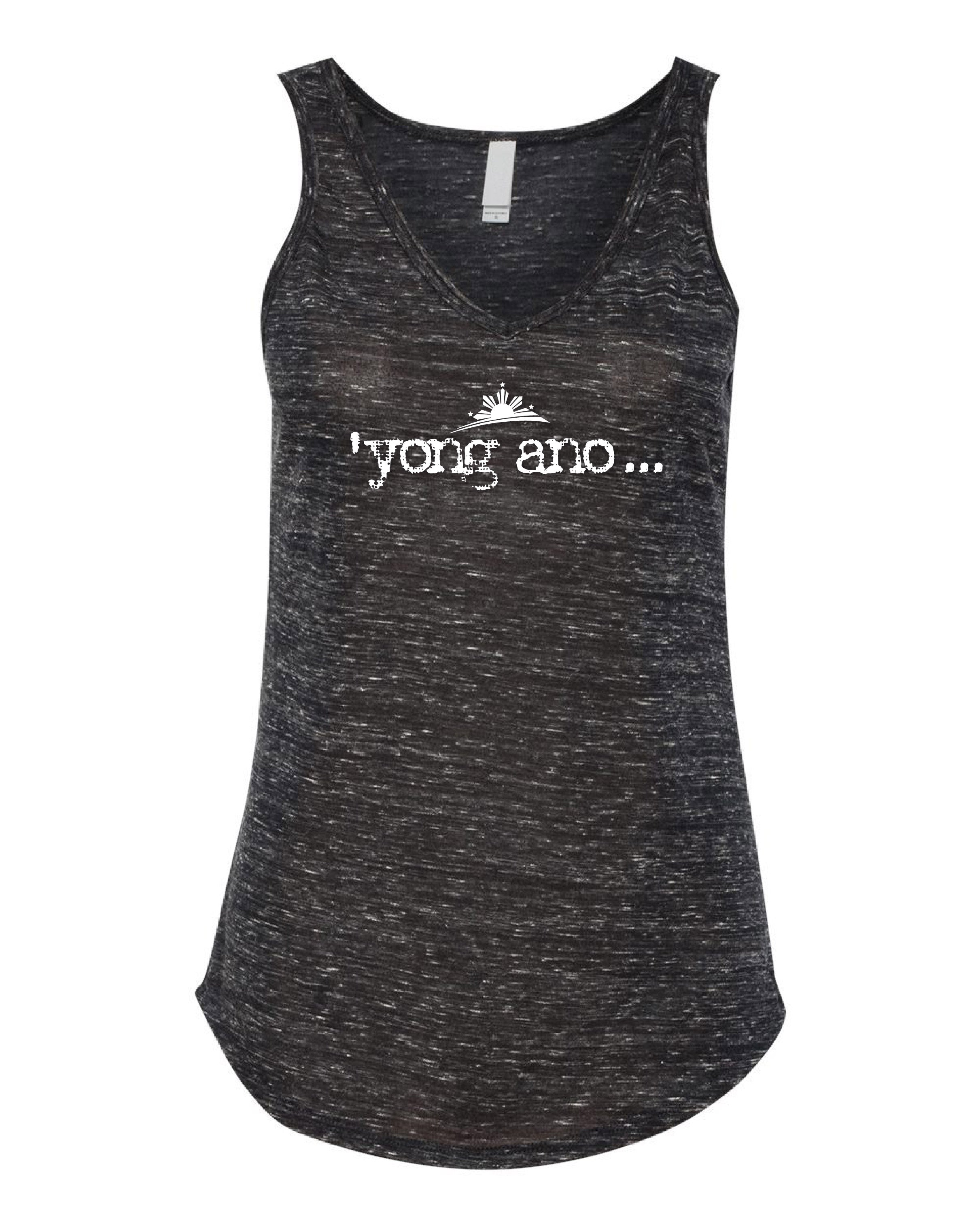 """'yong ano... "" V-Neck Tank Top - Women"
