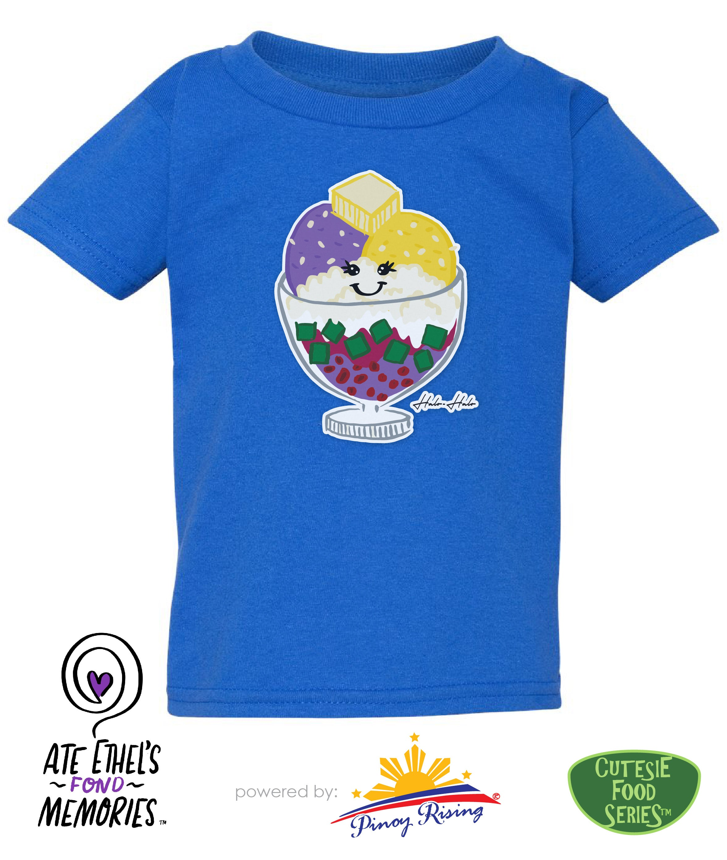 Halo-Halo Shirt - Toddler / Kids - Cutesie Foodie Series