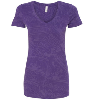"""Movement"" V-Neck Shirt - Women"