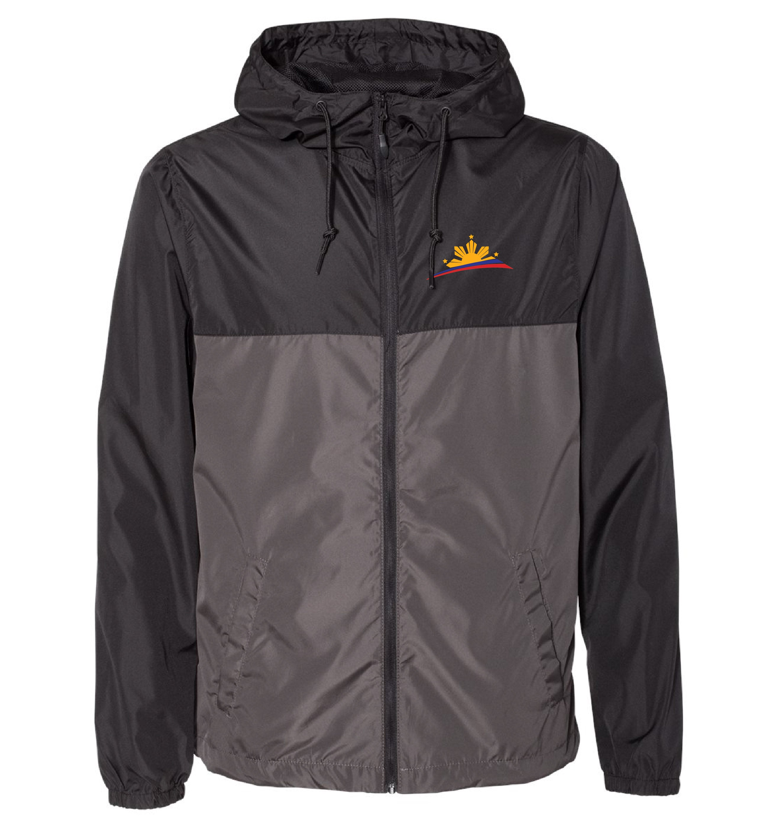 Filipino Lightweight Windbreaker Zip Jacket - Men