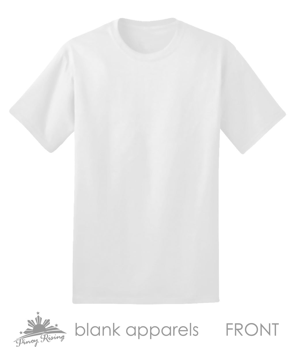 Blank Shirt for Filipino Groups and Events - Pinoy Rising Brand