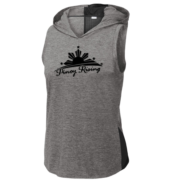 Sleeveless Hoodie Activewear- Women