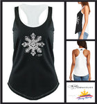 Sampaguita Sun Two-Tone Racerback Tank Top - Women