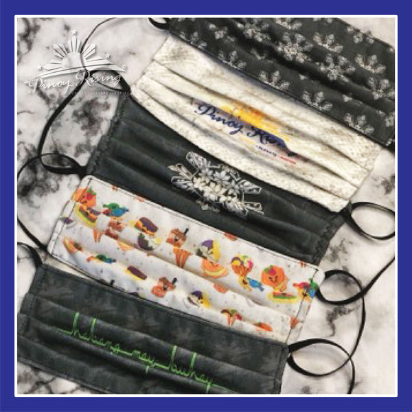 Face Cover - Pinoy Rising - Assorted Designs