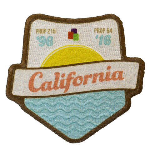 California Legalization Commemoration Iron-On Patch