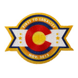 Colorado Legalization Commemoration Iron-On Patch - Leafly Store