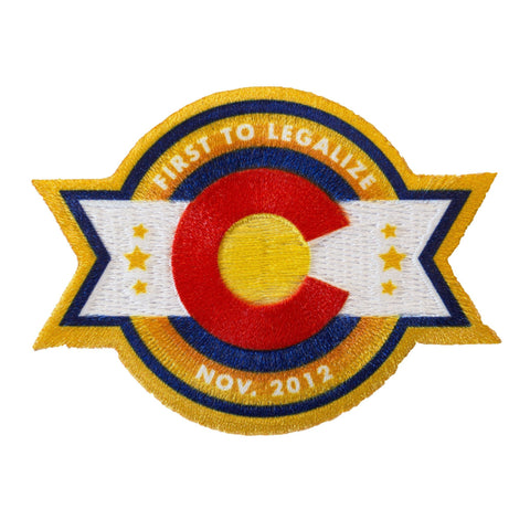 Colorado Legalization Commemoration Iron-On Patch