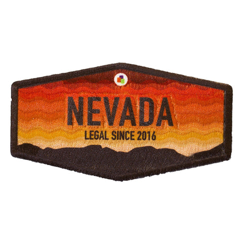 Nevada Recreational Legalization Iron-On Patch