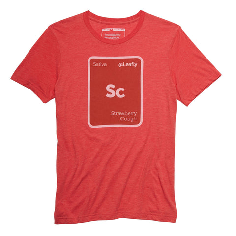 Leafly Unisex Strawberry Cough Strain T-Shirt - Leafly Store