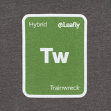 Leafly Unisex Grey Trainwreck Strain T-Shirt - Leafly Store