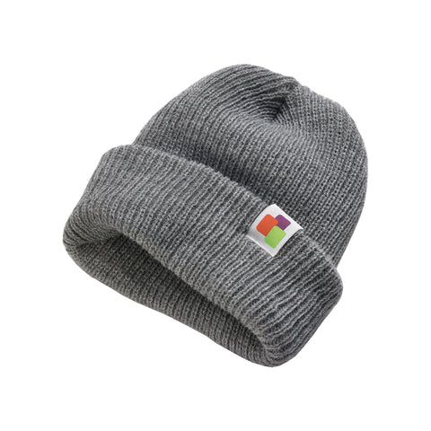 Leafly Gray Slouch Beanie - Leafly Store