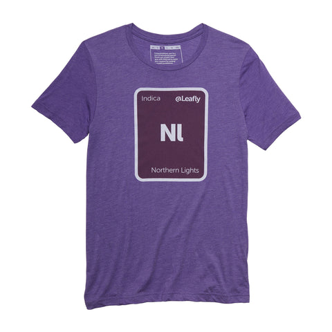 Leafly Unisex Northern Lights Strain T-Shirt - Leafly Store