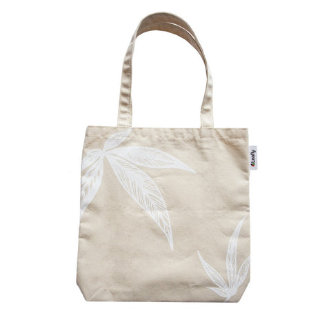 Leafly Canvas Tote Bag