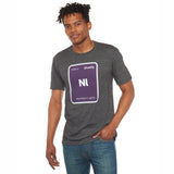 Leafly Unisex Grey Northern Lights Strain T-Shirt - Leafly Store