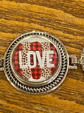 Load image into Gallery viewer, 5 Snap Valentine Bracelet Combo.  Includes 20mm Snaps