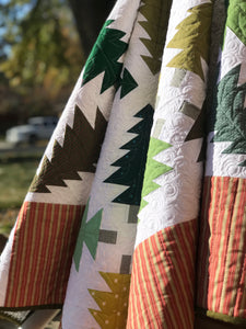 Evergreen quilt pattern by Molly Kohler