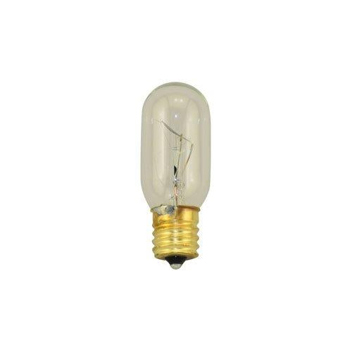 Bulbrite 25T8N 25 Watt Incandescent Showcase/Aquarium/Display T8 Tubular Bulb, Intermediate Base, Clear