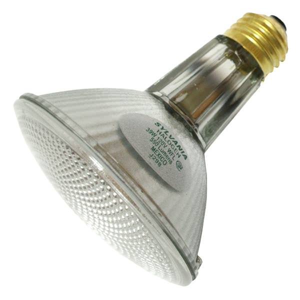 Sylvania 16156 39-Watt PAR30 Long Neck Halogen Reflector Wide Flood