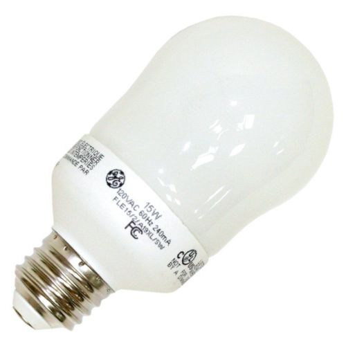 GE 89632 - FLE15/2/A19XL Pear A Line Screw Base Compact Fluorescent Light Bulb