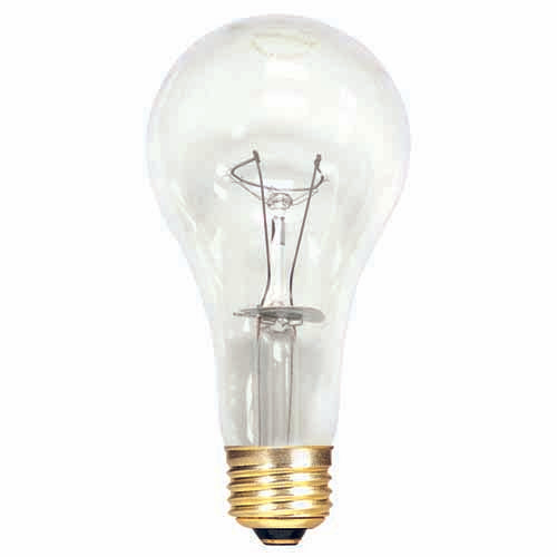 Bulbrite 150A/CL/HL 150 Watt High Lumen Incandescent A21, Medium Base, Clear