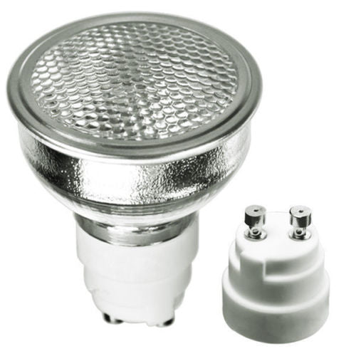 GE 97638 - 20 Watt - MR16 Flood - Pulse Start - Metal Halide Protected Arc Tube - 3000K - ANSI C156/C175/O - GX10 Base - Universal Burn - CMH20MR16/830WFL