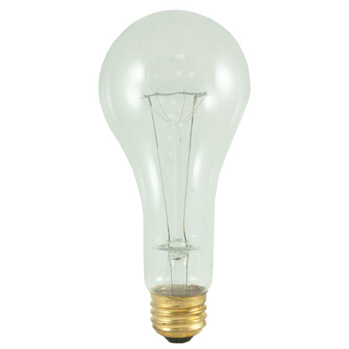 Bulbrite 200A/CL/HL 200 Watt High Lumen Incandescent A23, Medium Base, Clear