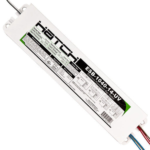 Electronic Sign Ballast - 10-40 ft. Total Lamp Length - (1-4 Lamps) 120/277 Volt - Hatch ESB-1040-14-UV