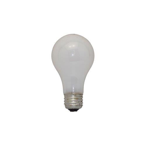 Bulbrite 25A/SW 25 Watt Incandescent  A19 Bulb, Medium Base, Soft White, 3-Pack