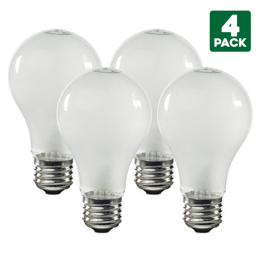 4-Pack Sylvania 100 Watt Standard White Incandescent Light Bulbs, Medium (E26) Base, A19 Shape, Indoor, 120 Volt, 1710 Lumens, Fully Dimmable, 100 CRI