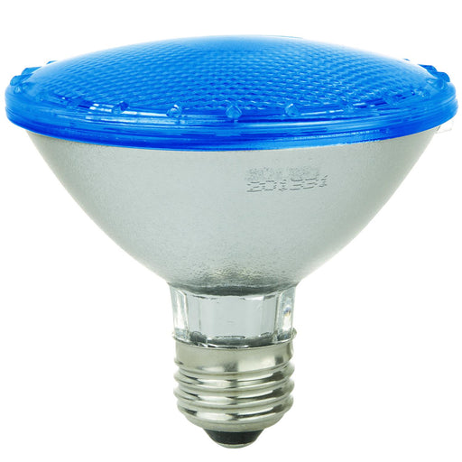 Sunlite LED PAR30 Colored Reflector 4W Light Bulb Medium (E26) Base, Blue