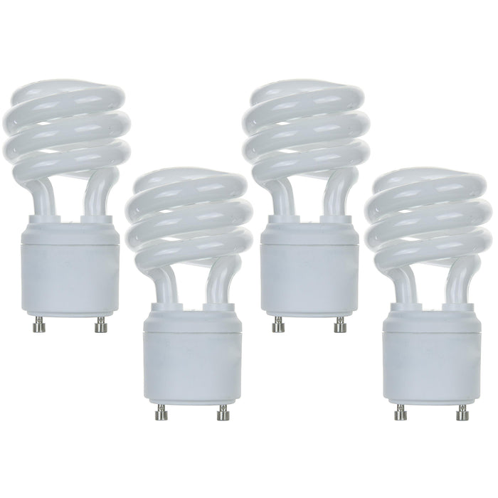 Sunlite 13 Watt GU24 Spiral, GU24 Base, Cool White