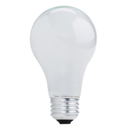 BULBRITE HALOGEN A19 MEDIUM SCREW (E26) 53W DIMMABLE LIGHT BULB 2900K/SOFT WHITE 75W INCANDESCENT EQUIVALENT 12PK (115152)