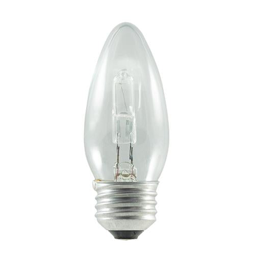 BULBRITE HALOGEN B11 MEDIUM SCREW (E26) 43W DIMMABLE LIGHT BULB 2900K/SOFT WHITE 60W INCANDESCENT EQUIVALENT 10PK (616602)