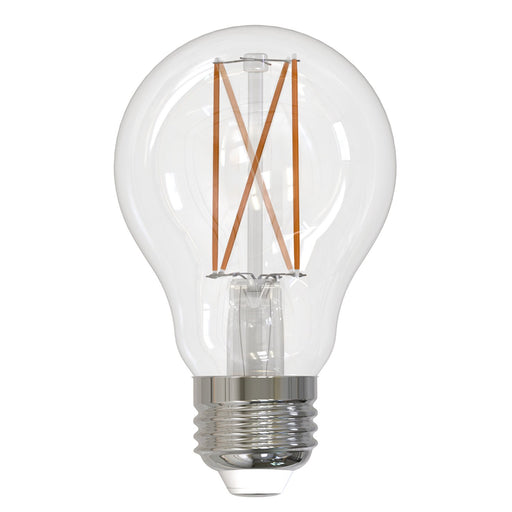 BULBRITE LED A19 MEDIUM SCREW (E26) 7W DIMMABLE FILAMENT LIGHT BULB 2700K/WARM WHITE 60W INCANDESCENT EQUIVALENT 2PK (776874)