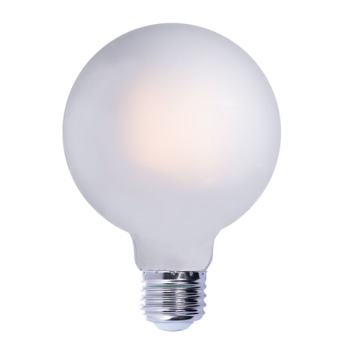 BULBRITE LED G40 MEDIUM SCREW (E26) 7W FULLY COMPATIBLE DIMMING FILAMENT LIGHT BULB 2700K/WARM WHITE 75W INCANDESCENT EQUIVALENT 2PK (776883)