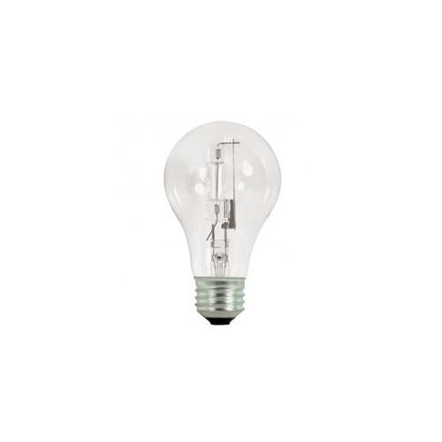 Bulbrite 29A19CL/ECO 29 Watt Dimmable Eco-Friendly Halogen A19 Bulb, Medium Base, Clear, 40 Watt Equivalent, 2-Pack