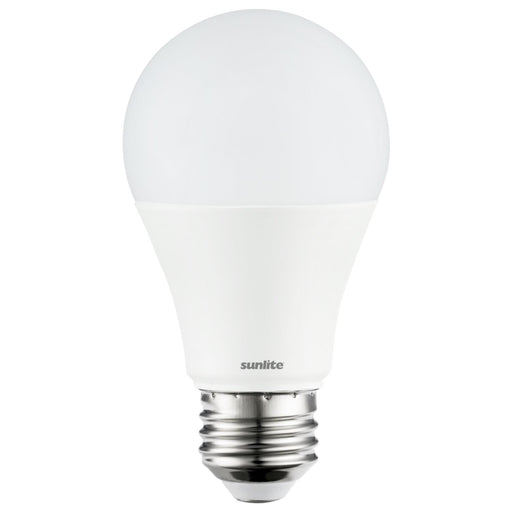 Sunlite 88392-SU LED A19 Standard Household Bulb, Super White