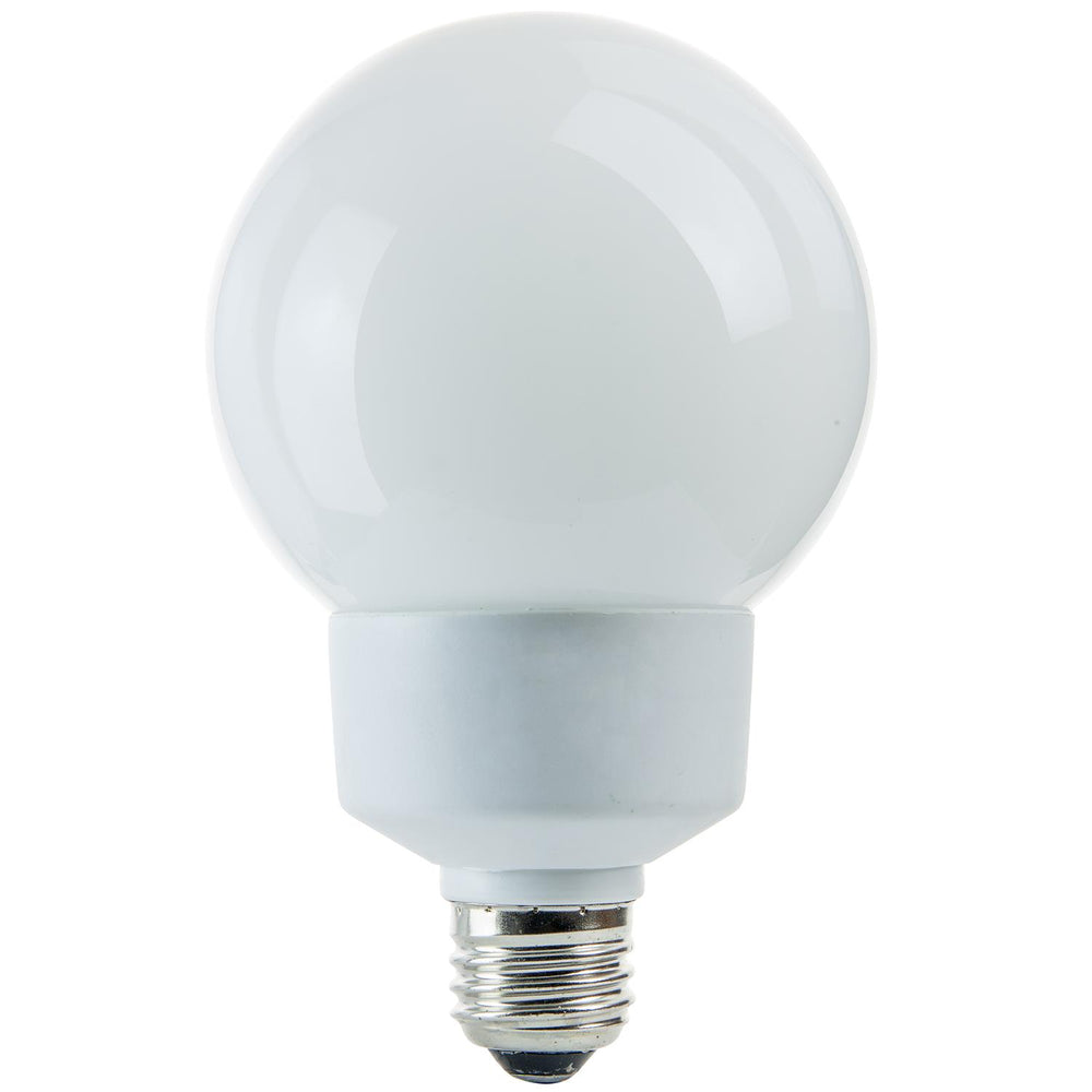 Sunlite 15 Watt Globe, Medium Base, Warm White