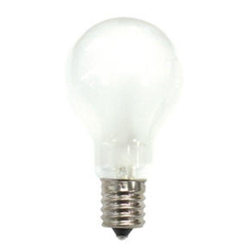 Bulbrite 40A15F/E17 40 Watt Incandescent A15 Fan Light, Intermediate Base, Frost